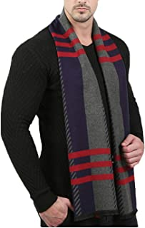 CNWJ Men's Cotton Soft Warp Elegant Long Fashion Winter Scarves