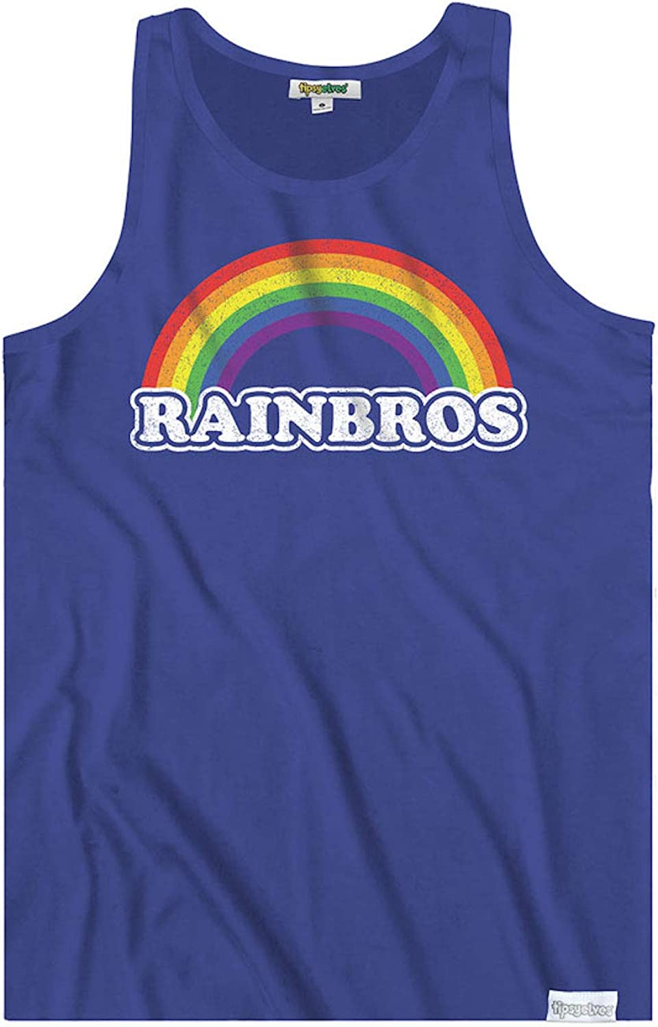 Fun and Loud Tank Tops for Pride, Festivals and Summer - Men's Cut: Clothing