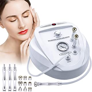 Yofuly 3 IN 1 Diamant Microdermabrasion Dermabrasion Maschine, Profi-Home-Use-Facial Beauty-Salon-Ausrüstung Saugleistung 65-68cmhg