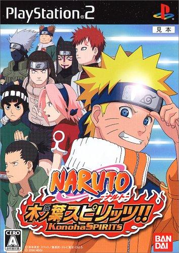 Naruto Konoha Spirits - Japanese PS2 Import Game