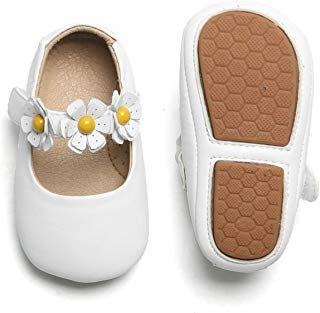 Otter MOMO Baby Girl Shoes (2.5-3 Years M US Toddler, D7706-White)