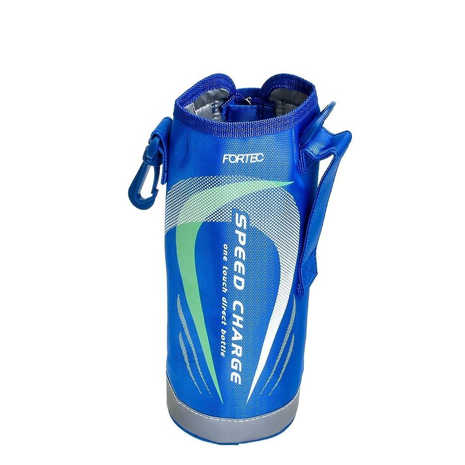自発ニュージーランド織機和平フレイズ 交換用部品 水筒 専用ポーチ ワンタッチ栓ダイレクトボトル フォルテック?スピード 1L用 ブルー STC06-PO2-BL
