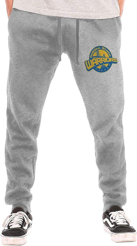 BarWords Men's Casual Sweatpants goldenStateWarriors Jogger Pants Gym Workout Running Sportswear Trousers