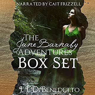 The Jane Barnaby Adventures Box Set                   By:                                                                                                                                 J. J. DiBenedetto                               Narrated by:                                                                                                                                 Cait Frizzell                      Length: 18 hrs and 45 mins     Not rated yet     Overall 0.0