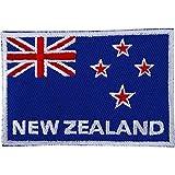 Drapeau de la Nouvelle-Zélande brodée fer à repasser/coudre sur patch Rugby T-shirt à broder badge