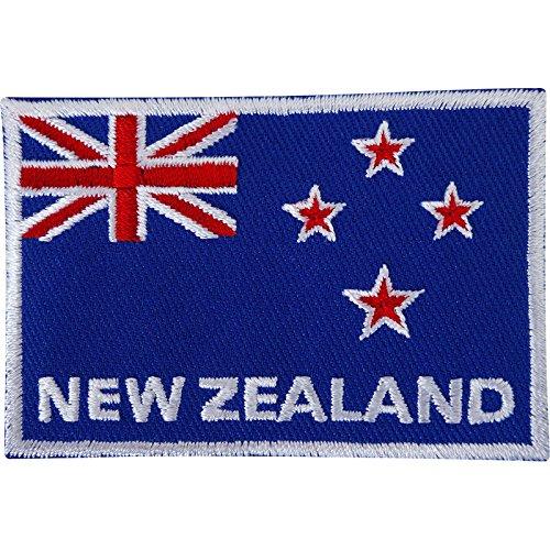 Neuseeland Flagge gesticktes Eisen/Nähen auf Patch Rugby T Shirt Stickerei Badge