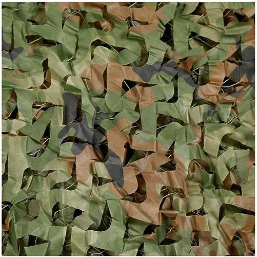 DLLzq Filet De Camouflage Pêche en Plein Air à Oxford Filet Camouflage des Bois Cuir De Camping Camouflage Militaire,6.5M×6.5M