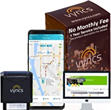 VYNCS Premium: No Monthly Fees GPS Tracker OBD 3G Vehicle GPS Tracking, Teen Driver Safety VPOBDGPS1