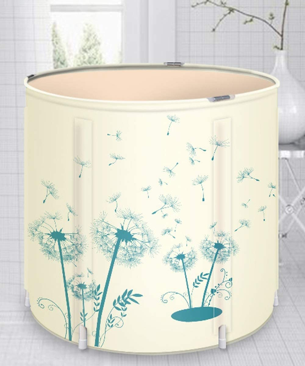 70cm Miami Mall Beige Bathtub Limited Special Price Portable Bathtubs Foldin Household Adults for