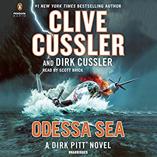 Odessa Sea audiobook cover art