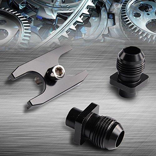 Oil Cooler Adapter Fitting Replacement For BMW E36 E46 Euro E82 E9X 135/335 E46 M3 E90 E92 Black