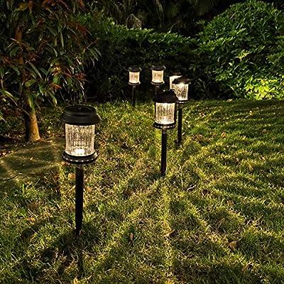 Solar Lights Outdoor Garden Decorative - 6Pack ...