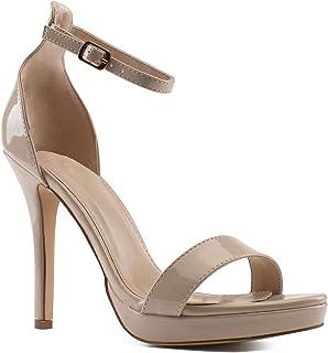 RF ROOM OF FASHION Women's Fashion Heel Dress Sandal Pumps