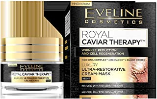 EVELINE ROYAL CAVIAR THERAPY NIGHT CREAM-MASK 50ML