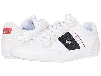 Lacoste Chaymon 120 7 U (White/Black) Men