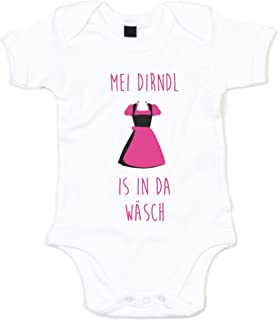 shirtdepartment Baby Body - Mei Dirndl is in da Wäsch