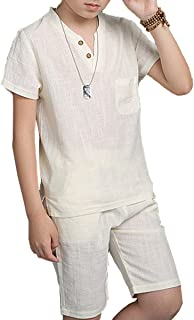Best boys white linen outfit Reviews