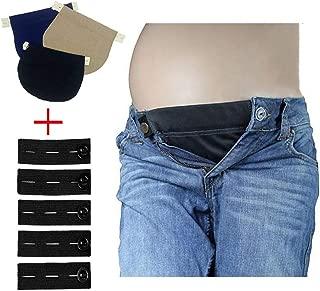 CASHIMRE Maternity Belly Band | Pregnancy Belt, Waistband, Blue, Size 6.0