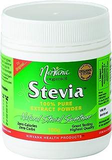 Nirvana Organics Stevia Pure Stevia Extract Powder 100 g