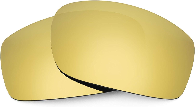 Revant Verres de Rechange pour VonZipper Clutch - Compatibles avec les Lunettes de Soleil VonZipper Clutch Or Mirrorshield - Polarisés Elite