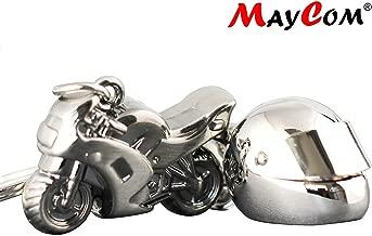 motorcycle helmet keyring