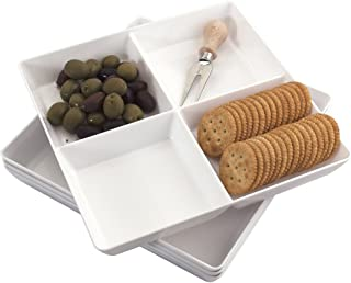 Best plastic compartment serving tray Reviews