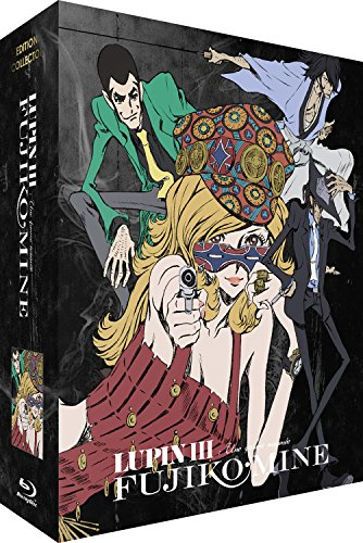 Lupin III : Une Femme nommée Fujiko Mine-Intégrale-Edition Collector Limitée-Combo [Blu-Ray] + DVD