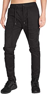 ITALY MORN Men's Tapered Cargo Pants Casual Military Work