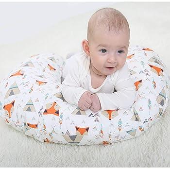 VERNASSA Nursing Pillow, Breastfeeding Baby Support Pillow  Newborn Infant Feeding Cushion   Portable for Travel (Ora...