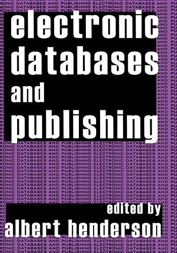 Electronic Databases and Publishing (English Edition)