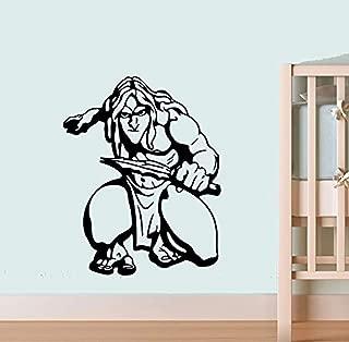 Tarzan Hunting Wall Poster Cartoon Walt Disney Vinyl Picture Tarzan Wall Vinyl Decal Decor for Home Child Kids Room Graphic Baby Nursery SC7