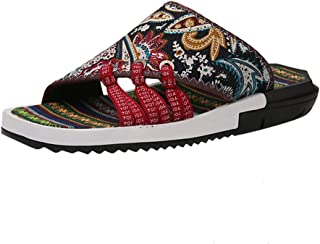 Corriee Men Floor House Shoes Casual Flats Bedroom Slippers Fashion Beach Footwear