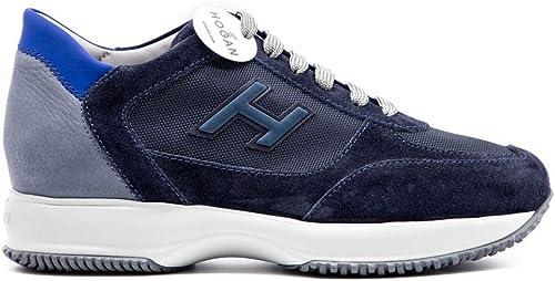 Hogan Sneaker Interactive Uomo H Flock Blu HXM00N0Q102N6Z50C3 41 ...