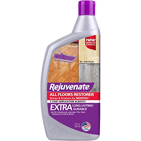 Rejuvenate All Floors Restorer and Polish Fills in Scratches Protects & Restores Shine No Sanding Required (32 oz)