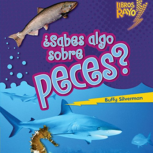 ¿Sabes algo sobre peces? [Do You Know About Fish?] audiobook cover art