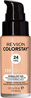 Revlon ColorStay Liquid Foundation For Normal/dry Skin, SPF 20, Vanilla, 1 Fl Oz