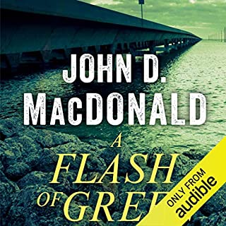 A Flash of Green audiobook cover art