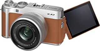 Fujifilm X-A7 Mirrorless Digital Camera with (15-45mm Lens) Camel International Version