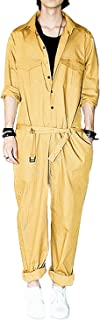 mens yellow coveralls