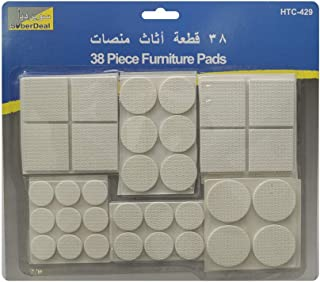 SuberDeal Furniture Pads, Multi-Colour, SBD-429, 38 Pieces