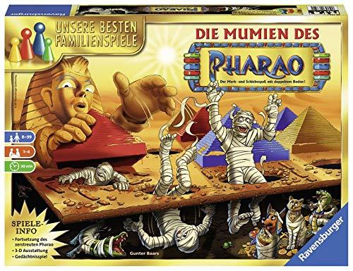 Die Mumien des Pharao: Der Merk- und Schiebespaß mit doppeltem Boden!
