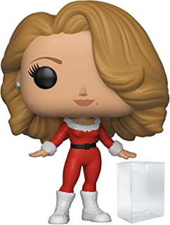 Funko Pop! Rocks: Music - Mariah Carey Merry Christmas Vinyl Figure (Includes Pop Box Protector Case)