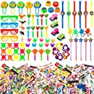 Your Favorite Candy & Party Favor Assortment - 5 Pounds of Delicious Party Candy Plus 100 Party Favor Toys - Great for Birthdays, Piñata, Party Favors - By Snackadilly