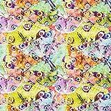 Fabulous Fabrics Digitaldruck Schmetterlinge – grün —