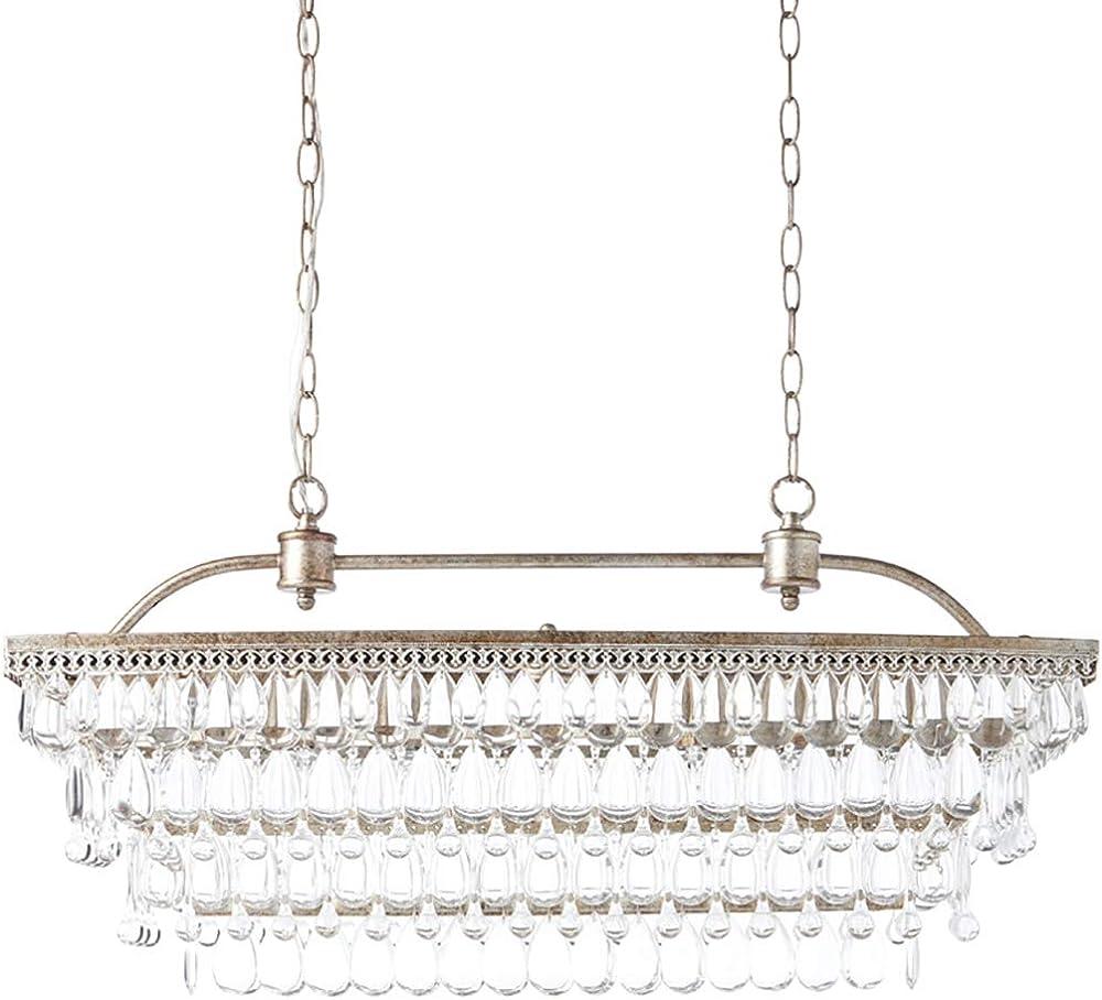 Hhrong lampadario di cristallo goccia di pioggia HHRONG002362