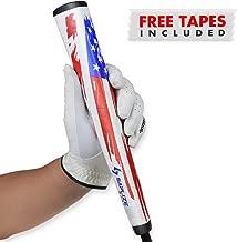 SAPLIZE Golf Putter Grip, Golf Club Grips, M.A.G.A. Series, Putter Grips, Iron Wood Grips