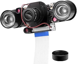 UNIROI Raspberry Pi用 カメラモジュール Rカットカメラ デイ/ナイトビジョン自動調整 Raspberry Pi 4B 3B 3B+ 2 1に対応 (0.25インチ)