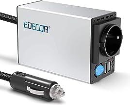 EDECOA 300w convertisseur 12v 220v transformateur avec 2 USB et 1 prises EU convertisseur..