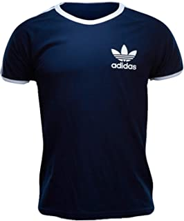 adidas, Originals - Camiseta para hombre Sport Essentials, Hombre, Blu - blu scuro, L