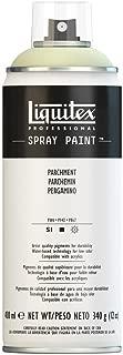 Liquitex 4450436 Professional Spray Paint 12-oz, Parchment